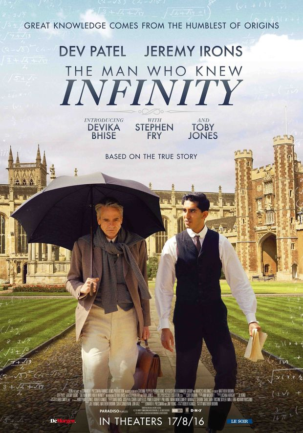 Maak kans op 20 x 2 tickets voor de film ''The Man Who Knew Infinity''