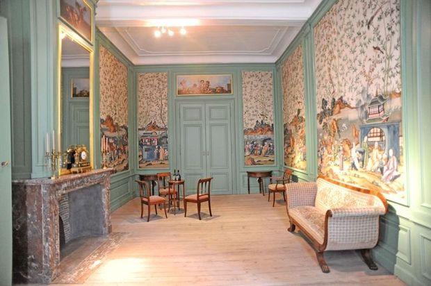 Hotel d'Hane-Steenhuyse: Toen de Franse koning hof hield in Gent