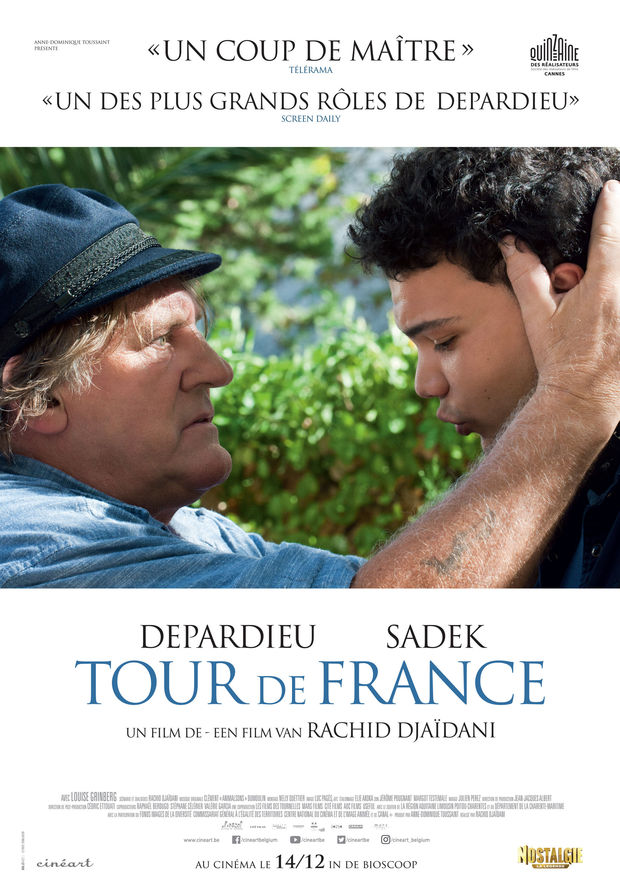 Win een duoticket voor de film Tour de France