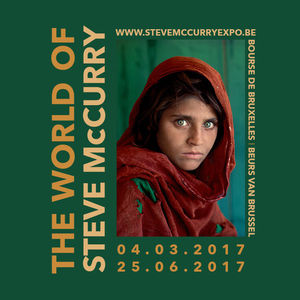 Win twee tickets voor de expo The World of Steve McCurry