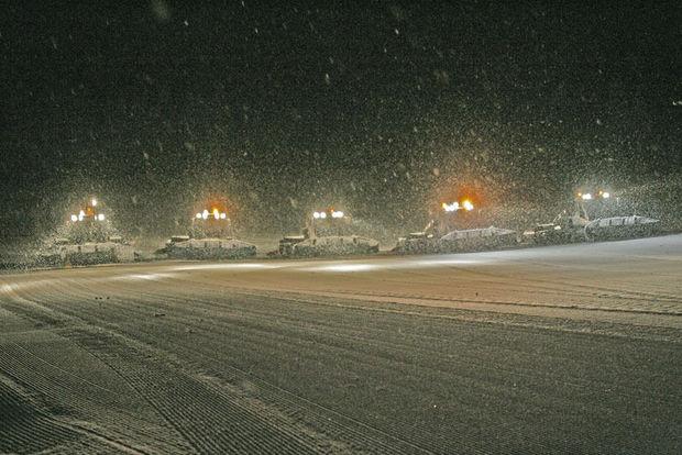 Achter de schermen van een skigebied