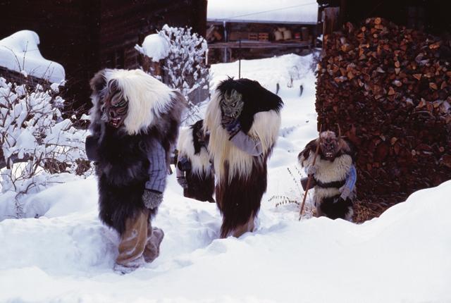 Tschäggättä, Lötschental Tourismus
