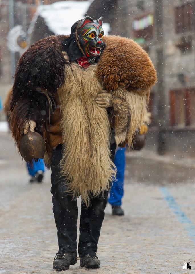 Le peluches, Carnaval d'Evolène