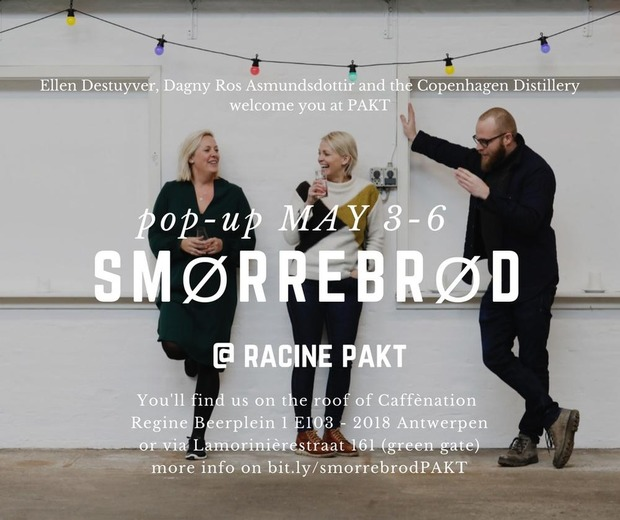 Nieuw pop-up restaurant Smörrebröd