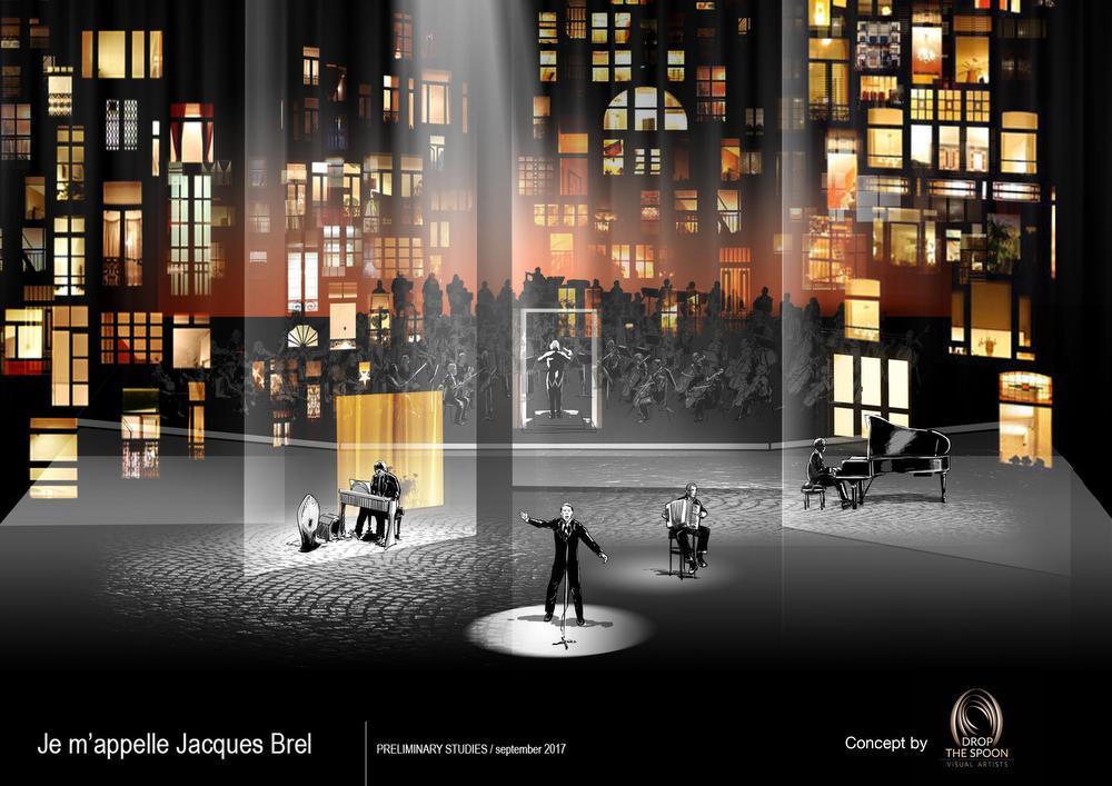 Jacques Brel herleeft in Vorst Nationaal