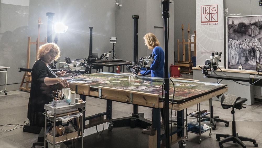MSK onthult Van Eycks origineel 'Lam Gods'