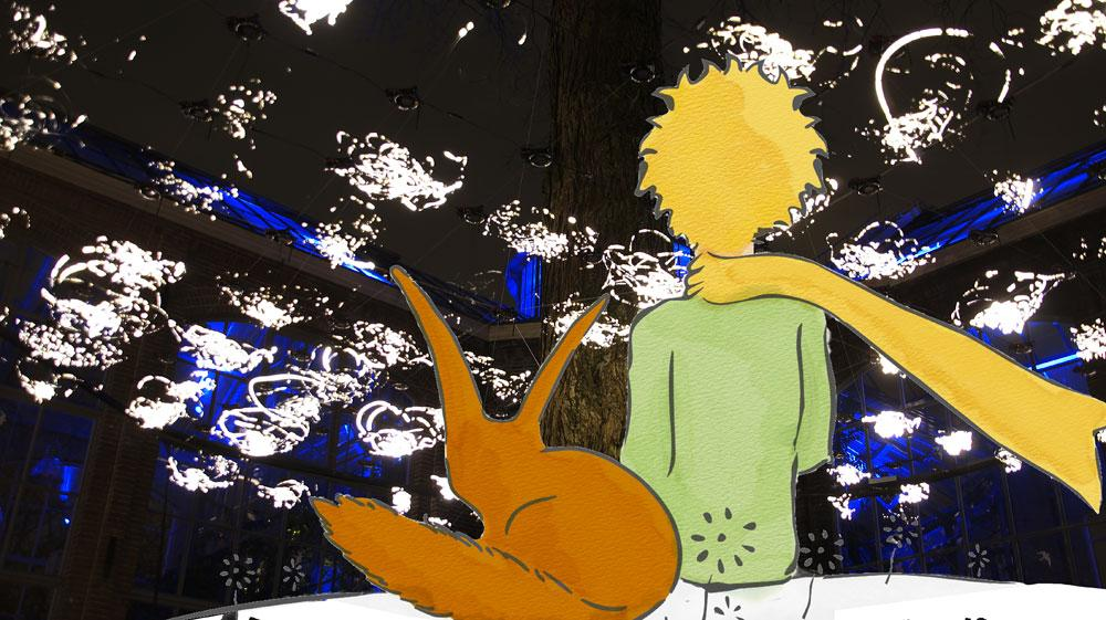 Kleine Prins verlicht Knokke-Heist