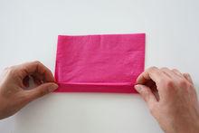 DIY: Maak een kleurig servet-boeket