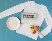 Gewoon doen: stempelen met fruit!