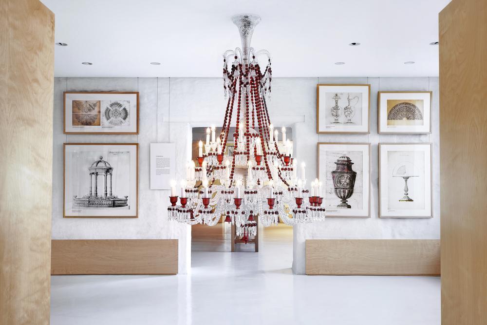 Het Baccarat-museum., Laurent Parrault