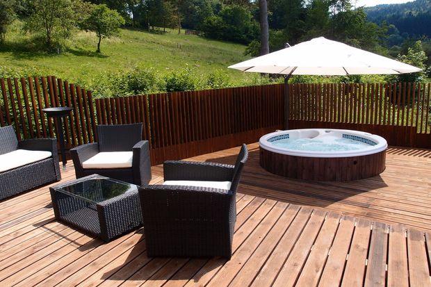 Chalets met eigen spa., Tourisme Lorraine